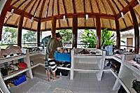 Kameraraum der Alam Batu Tauchbasis