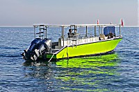 ein gut motorisiertes Tauchboot