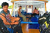 Tauchen mit den Blue Bay Divers