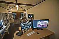 Blick in das professionelle Foto-Center der Tauchbasis