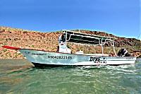 Tauchboot von Dive in La Paz
