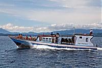 Tauchboot des Gangga Island Diving Center