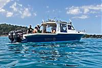Tauchboot des Kalimaya Dive Center