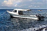Großes Tauchboot der Markisa Divers