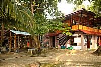 Tauchbasis des Murex Bangka Resort
