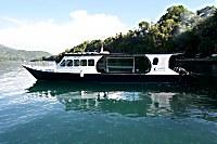 Tauchboot der NAD Lembeh Divers