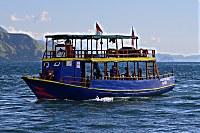 Tauchboot des Orca Dive Club Flores