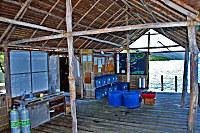 Jetty Papua Diving im Kri Eco Resort