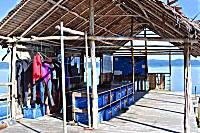 Jetty Papua Diving im Sorido Bay Resort