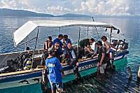 Tauchboot der Papua Explorers