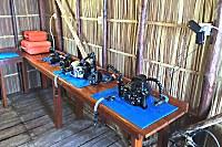 Kameraraum der Papua Explorers