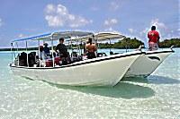 Tauchboot der Peleliu Divers