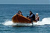 Speedboot der Pintuyan Tauchbasis