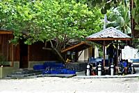 Tauchbasis des Prince John Dive Resort
