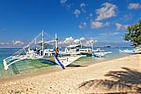 Tauchboot der Sea Explorers Malapascua