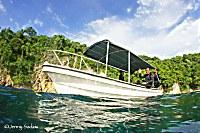Tauchboot der Tompotika Divers