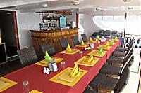 Halboffenes Restaurant der Carpe Diem