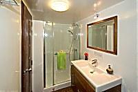 Badezimmer der Standard-Kabine