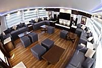 Innenansicht der Lounge