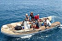 Tauchboot der Emperor Raja Laut