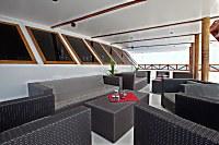 Lounge auf dem Vordeck