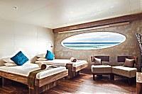 Manta-Suite auf dem Hauptdeck