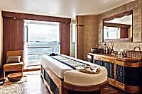 Massagebett mit Meerblick