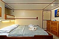 Kabine 4 mit Doppelbett