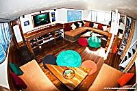 Lounge-Bereichs auf dem Hauptdeck