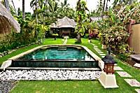 Villa Bahari mit privatem Pool