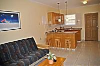 Küchen- und Wohnbereich eines Junior Apartments