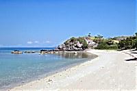 Strand des Angel Island Resort