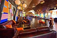 Lounge Ecke im Bastianos Bunaken Resort