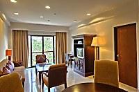 Wohnbereich der Deluxe Suite