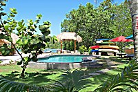 Swimmingpool des Ceningan Resorts