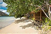 Aussenansicht eines Native Cabanas Bungalow