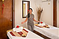 Resort verfügt über einen professionellen Spa-Bereich mit einem großen Angebot