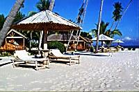 Strand vom Gangga Island Resort & Spa