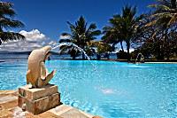 Swimmingpool des Gangga Island Resort & Spa