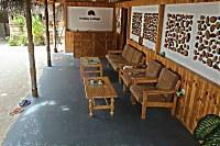 Kleiner Lounge-Bereich