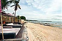 Blick auf den Strand des Indiana Kenanga Villas & Spa