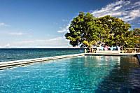 Salzwasser-Swimmingpool des Kalimaya Dive Resorts