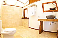 Badezimmer Komodo Resort