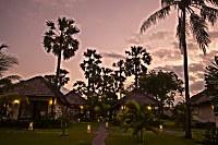 Abendstimmung im Kubu Indah Dive & Spa Resort