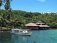 Hauptgebäude Kungkungan Bay Resort