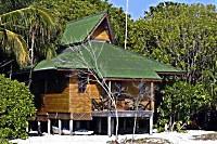 Bungalow des Lankayan Island Resort