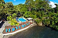 Blick aus der Vogelperspektive auf das Resort