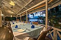 Restaurant des Lembeh Resorts