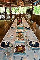 Restaurant im Lissenung Island Resort