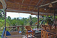 Restaurant des Living Colours Diving Resort